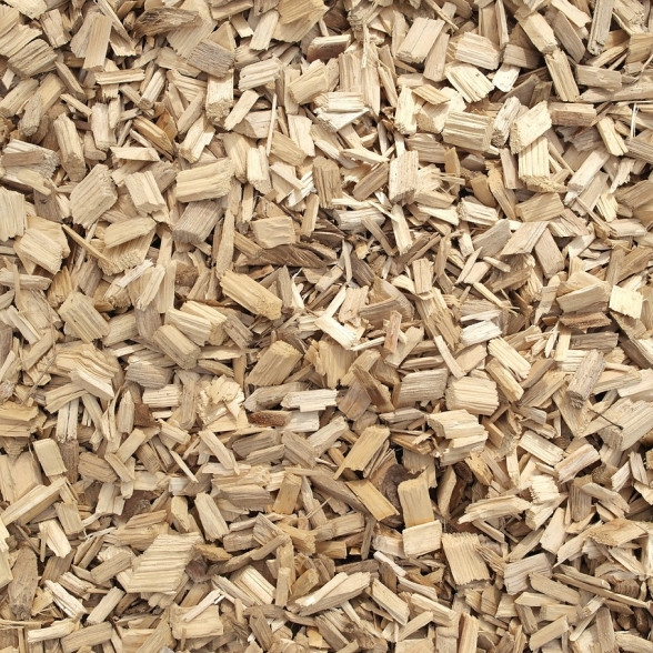 Wood chips and sawdust